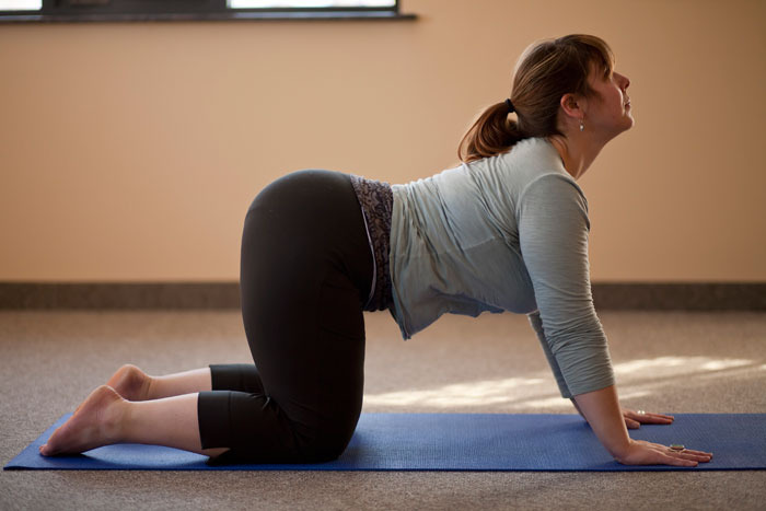 back arch stretch