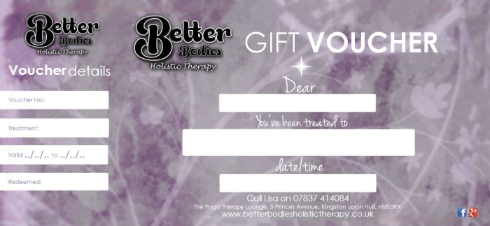 Better Bodies Gift Voucher